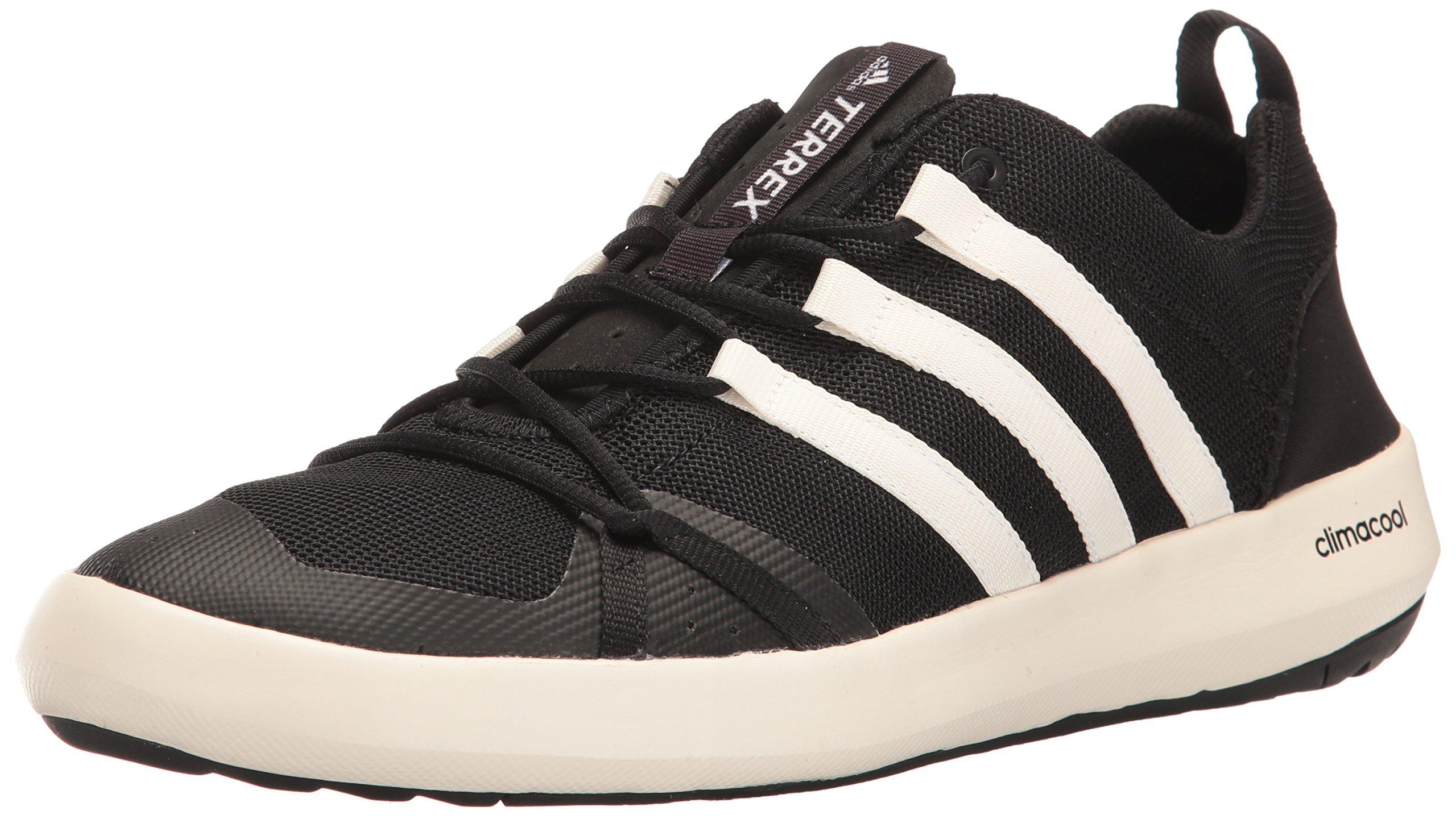 adidas outdoor Men's Terrex Climacool Boat Water Shoe, Chalk White/Black, 10.5 M US by adidas outdoor