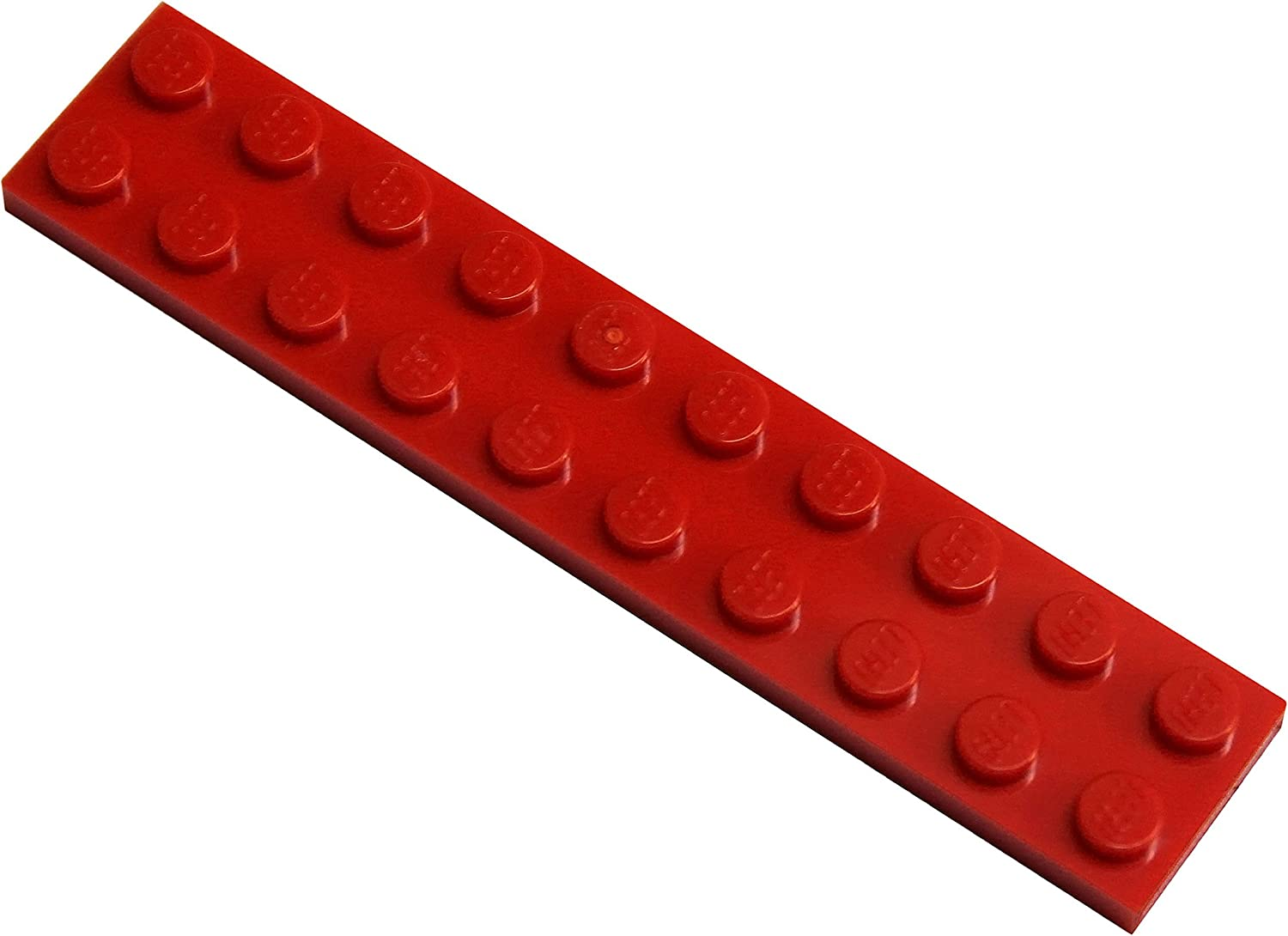 LEGO Parts and Pieces: Red (Bright Red) 2x10 Plate x20