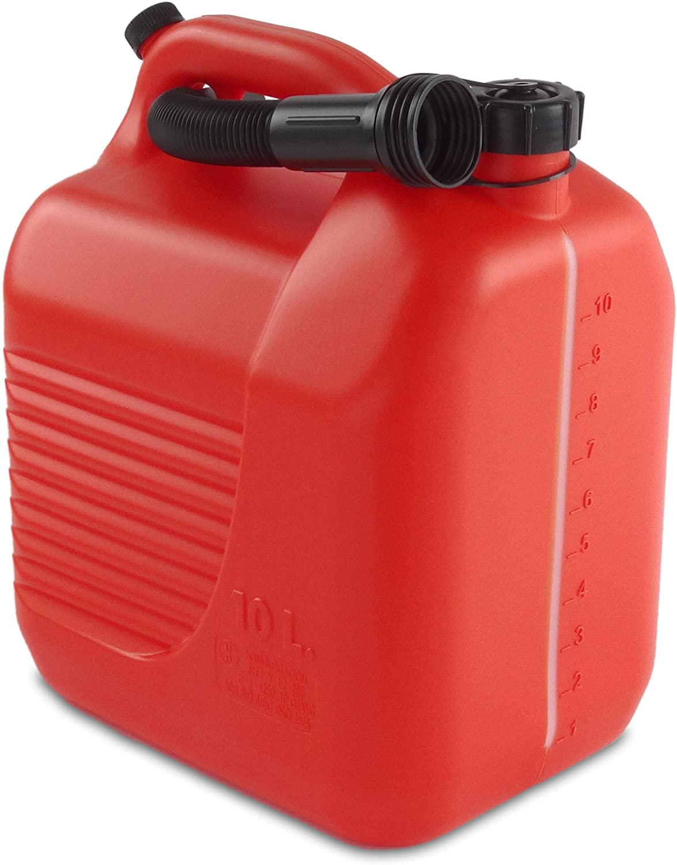 Tayg 602351 10 litros cánula, rojo, Bidón 10L