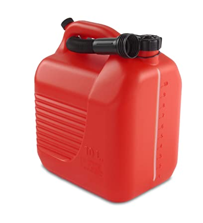Tayg 602351 Bidón 10 litros cánula, rojo, 10L