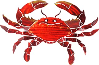 product image for Next Innovations WA3DMCRABOR CB Crab Refraxions 3D Wall Art, Orange