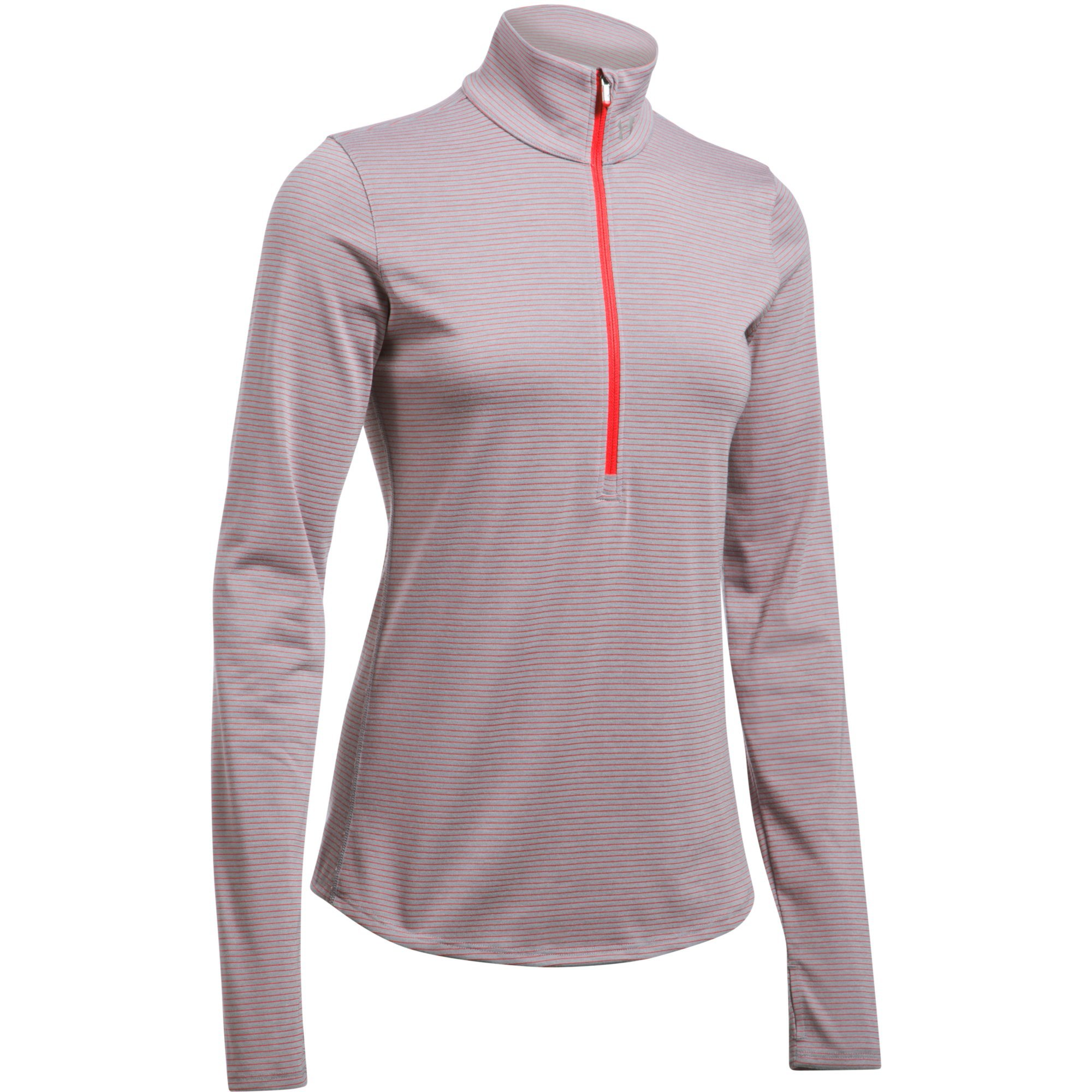 Under Armour Threadborne Streaker 1/2 Zip Women's Running Top - SS17 - Large - Grey by Under Armour