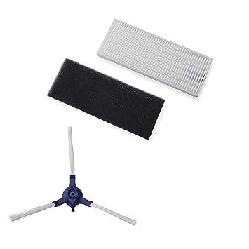 Rowenta ZR6901R1 - Accesorio para smart force essential incorpora 2 cepillos laterales, filtros de alta filtración y filtro de espuma, mantenimiento cómodo ...