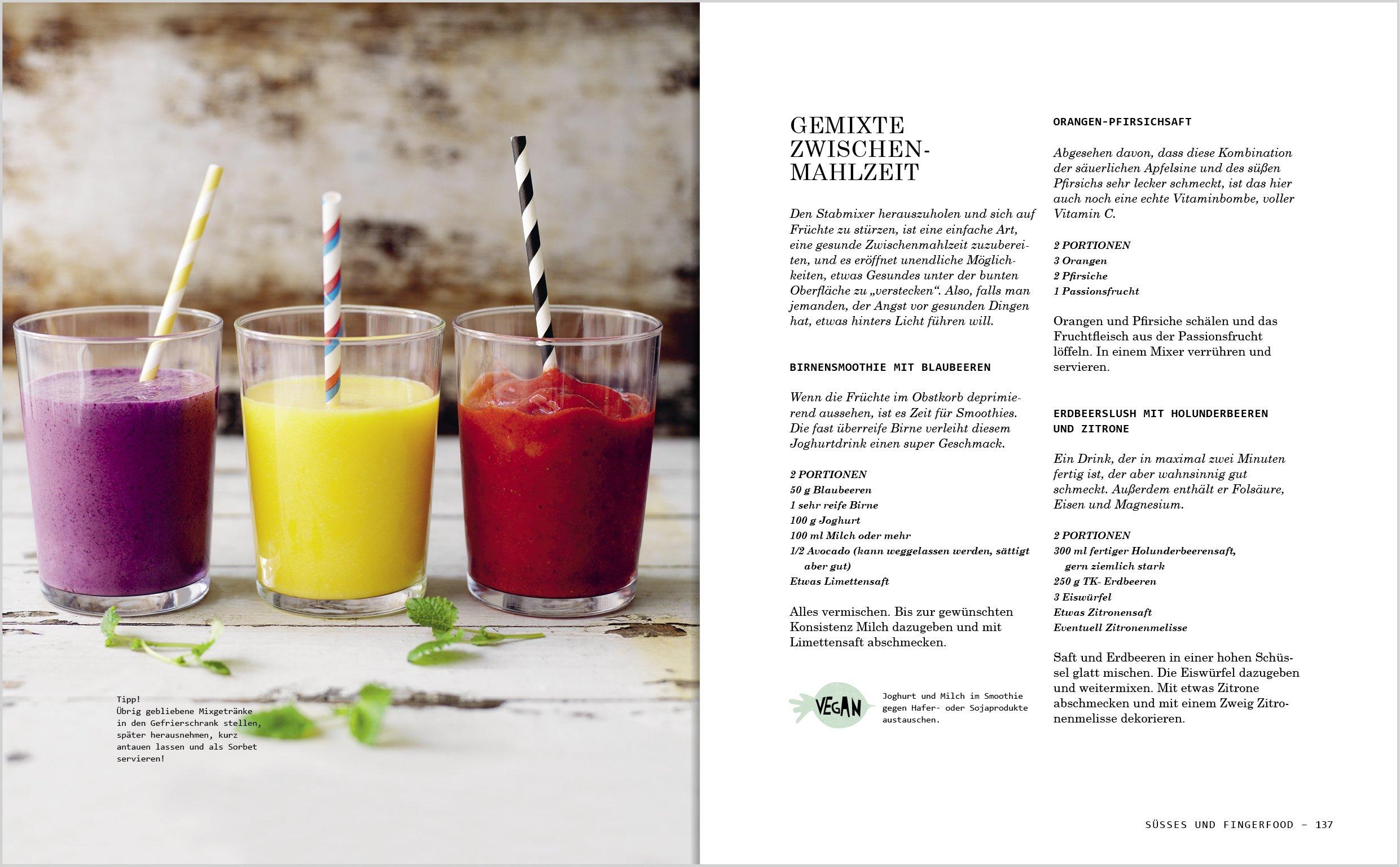 Das Veggie Familienkochbuch Vegetarische Rezepte Familie Download ...