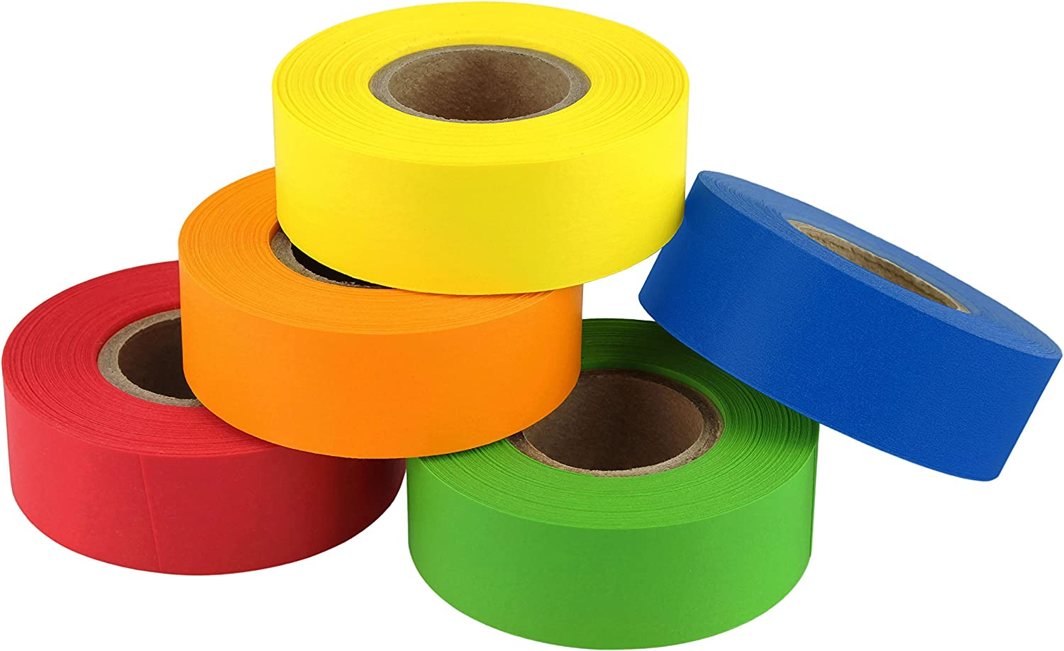 ChromaLabel Color-Code Labeling Tape Variety Pack, 5 Assorted Colors, 500 inch Rolls, 3/4 inch: Industrial & Scientific