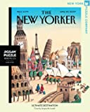 New York Puzzle Company - New Yorker Ultimate Destination - 1000 Piece Jigsaw Puzzle