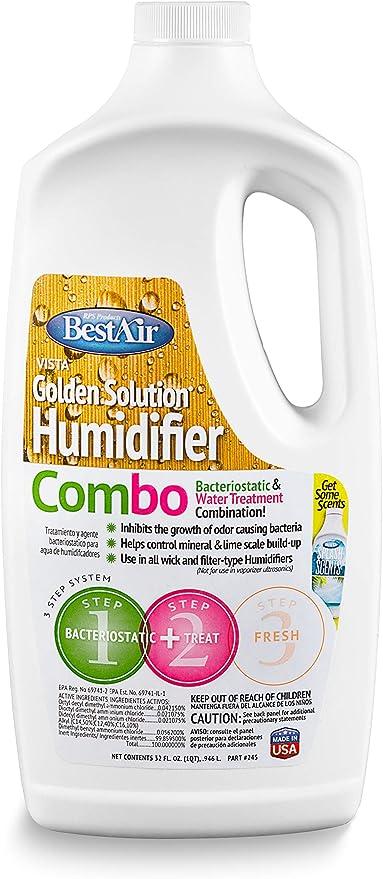 Vista Humidifier Treatment Water Bacteriostatic Original Solution Humidifiers
