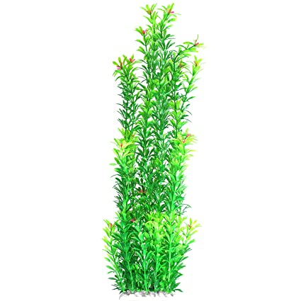 Amazon Com Tacobear Artificial Plastic Plant Green Aquarium Fish