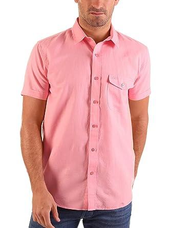 Lois Camisa Hombre Lago Perte Rosa XL: Amazon.es: Ropa y accesorios