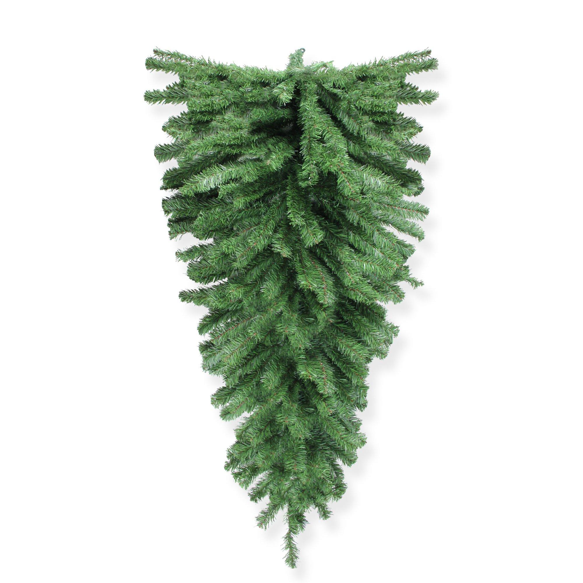 Northlight 48'' Canadian Pine Christmas Teardrop Swag - Unlit by Northlight