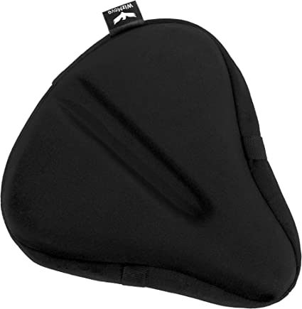 Bike Seat Gel Silicone Cushion Cover For Large And Wide Bicycle Saddle Pad Bike