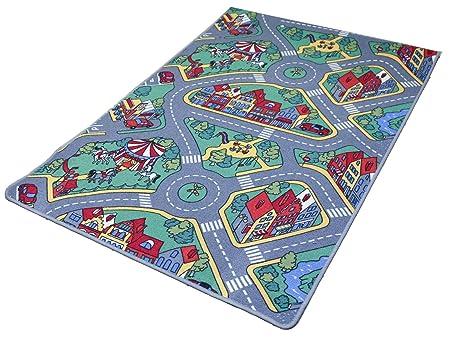 alfombras-online Speelkleed Raduno - 90 x 200 cm: Amazon.es ...