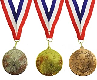 Bulk Buy - 100 split between Gold, Silver and Bronze sports day medals by BW Trophies
