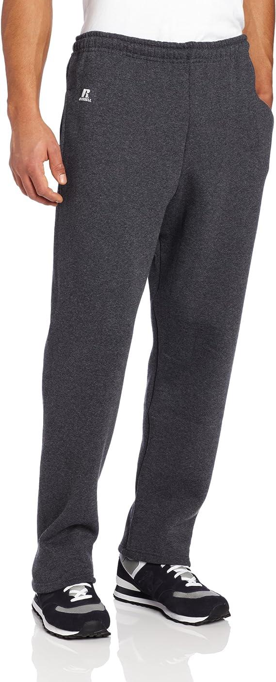 black heather sweatpants