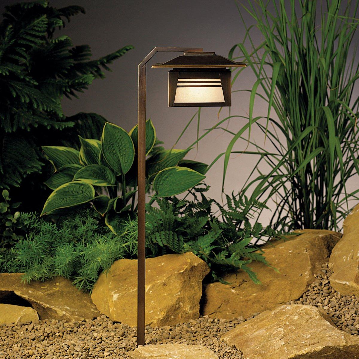 15391OZ Zen Garden 1LT Incandescent/LED Hybrid Low Voltage ...