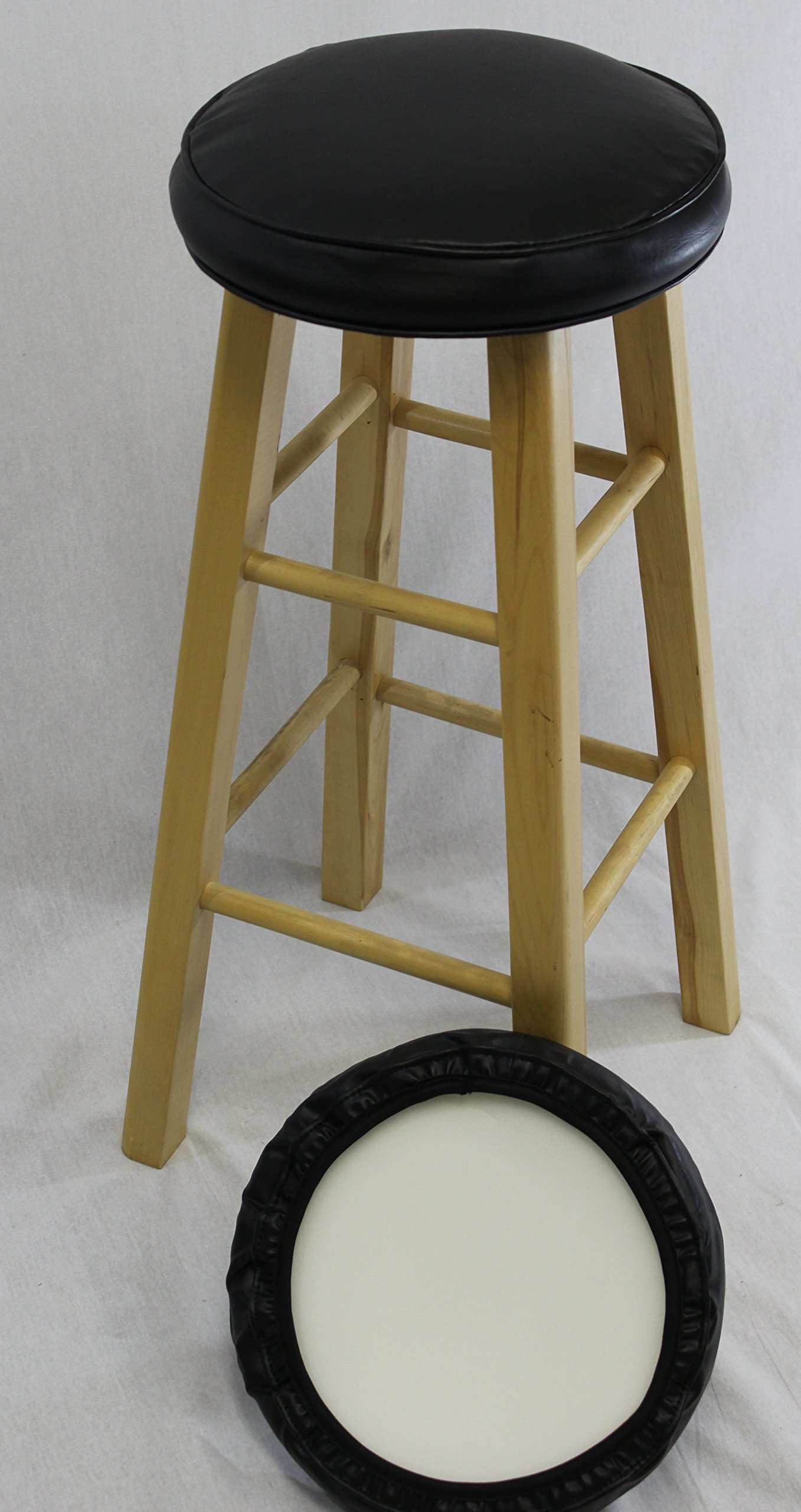 eHemco Bar Stool Cover with Foam Set of 2