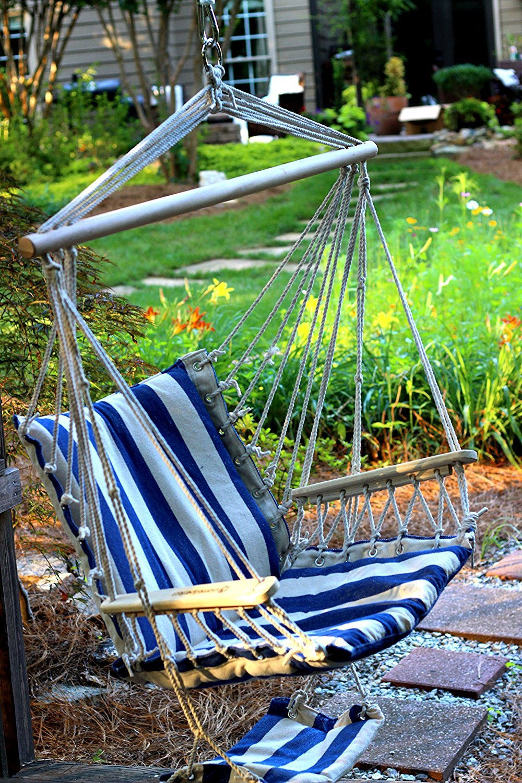 amazon com planted perfect indoor outdoor hammock chair