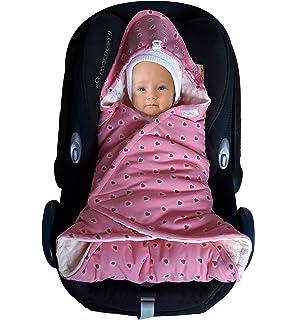 SWADDYL Baby Girl Swaddle Blanket I Car Seat Stroller Hooded Bunting Newborn
