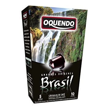 80 Cafés Oquendo Nespresso Compatible Coffee Capsules – BRASIL Single Origin Medium-Bodied Premium Quality