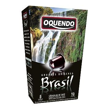 80 Cafés Oquendo Nespresso Compatible Coffee Capsules – BRASIL Single Origin Medium-Bodied Premium Quality