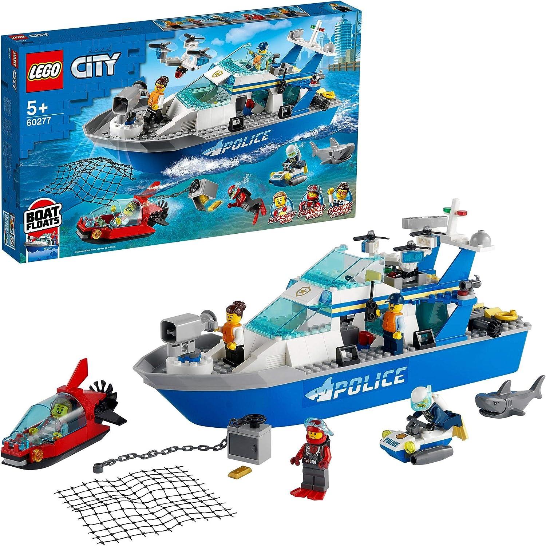 レゴ(LEGO) シティ ポリスパトロールボート 60277