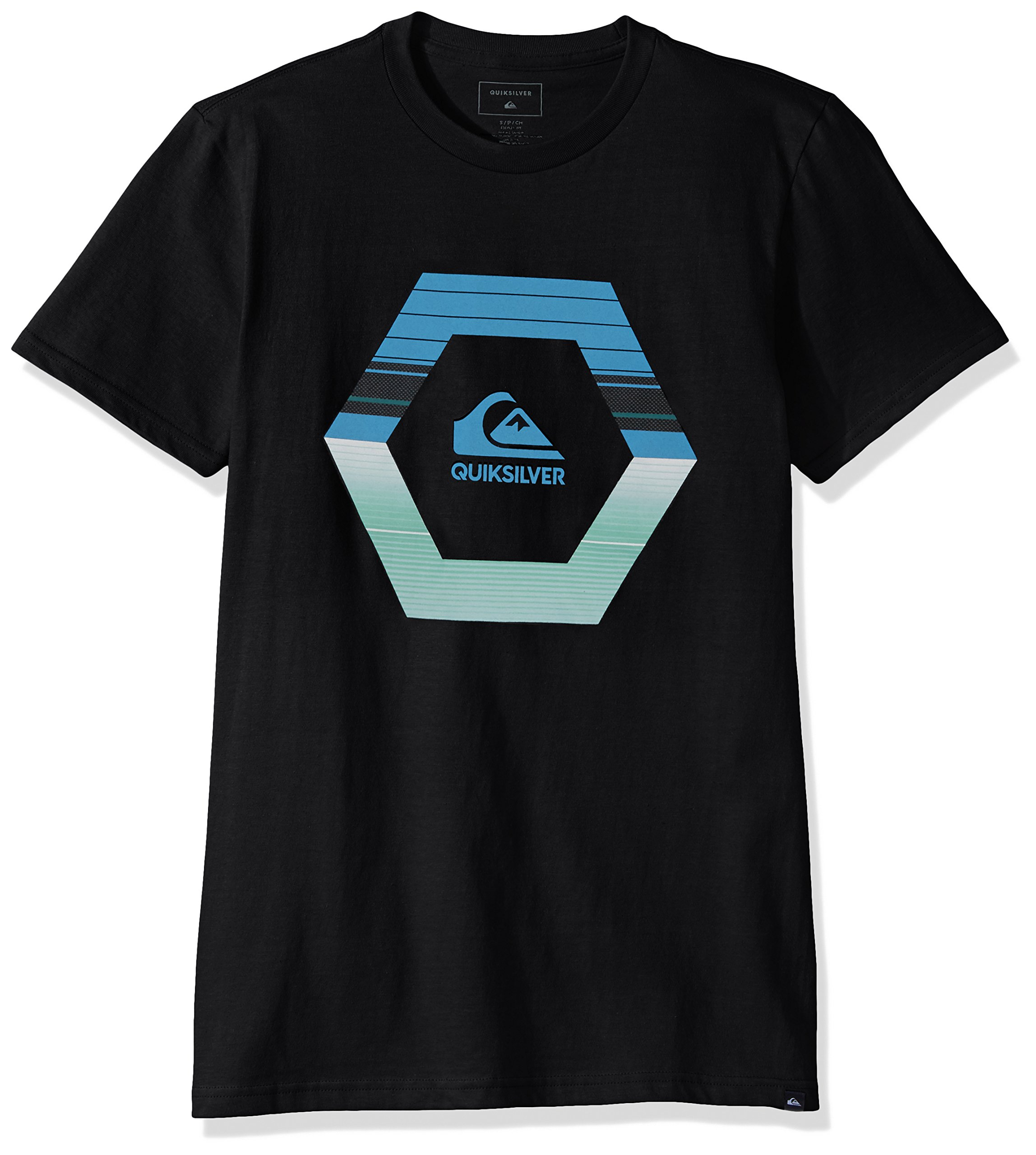 Quiksilver Men's Astral Travel Tee, Black, S by Quiksilver (Image #1)