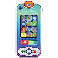 VTech - Baby Smartphone, teléfono Interactivo para bebés +12 Meses, Dos Pantallas táctiles, Diferentes apps de Juguete…