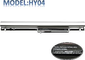 14.8V41Wh HY04 Laptop Battery Compatible with Hp Pavilion Touchsmart Sleekbook 14 15 Series 14-F020US HY04041-CL HSTNN-YB4U HSTNN-IB4U 717861-141 718101-001