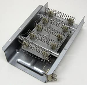 Compatible Dryer Heating Element for Amana NED4600YQ0, Estate EED4400SQ0, Estate TEDX640JQ1, Roper REL4634BW2 Dryers