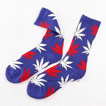 Socksmith Pot Leaf Purple Knee High Socks