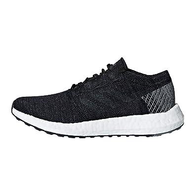 adidas Kids' Grade School Pureboost Go Running Shoes(BlackGrey,4.5,Medium)