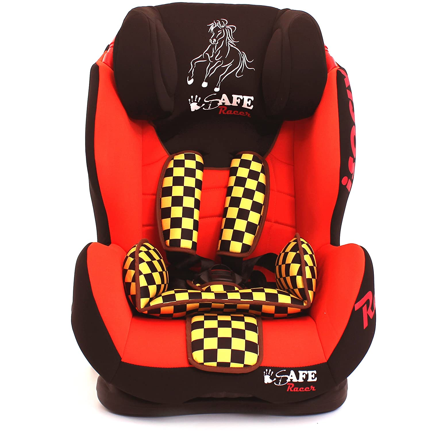 iSafe Isofix Duo Trio Plus and Top Teether Car Seat (Racer): Amazon ...