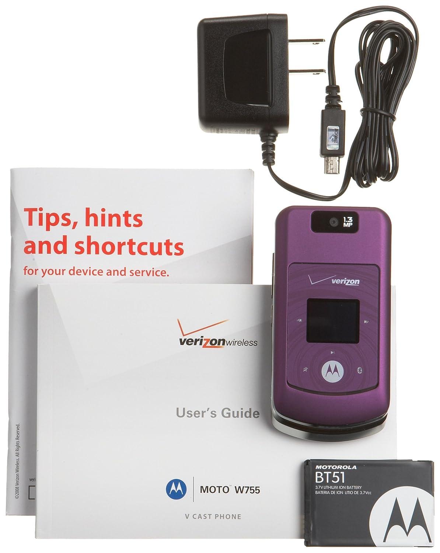 motorola w755 user guide free owners manual u2022 rh infomanualguide today Motorola Cell Phones Manuals Verizon Motorola W755 Cell Phone