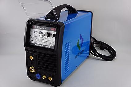 Hitbox multimig200 Inverter de sudor dispositivo 220 V de alto estándar Arc Mig Tig Syn DC