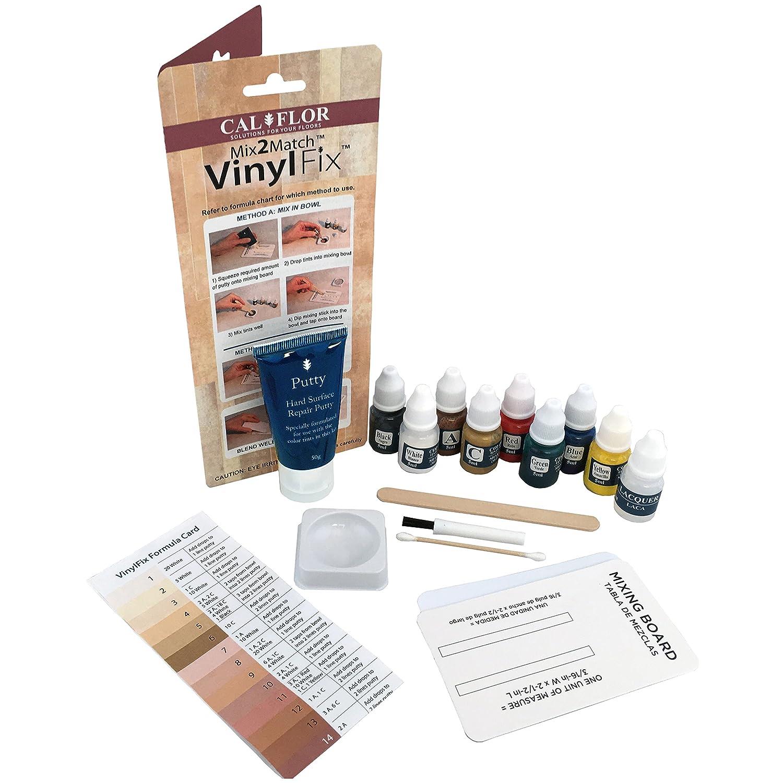 Cal-Flor FL49106CF VinylFix Mix2Match Repair Kit
