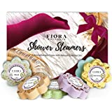Shower Steamers Aromatherapy Gifts for Women- 6 Shower Bombs Vapor Tablets with Essential Oils for Stress Relief Vaporizing S