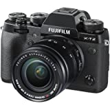 Fujifilm X-T2 Mirrorless Digital Camera F2.8-4.0 Lens, with XF 18-55 millimeters, Black