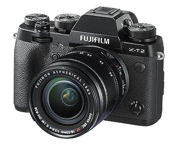 Amazon.com : Fujifilm X-T2 Mirrorless Digital Camera with 18-55mm ...