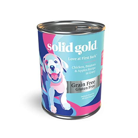 Amazoncom Solid Gold Puppy Wet Food Love At First Bark Grain Free