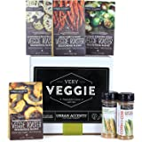 Urban Accents VERY VEGGIE, Vegetable Lovers Spice and Seasoning Gift Set (Set of 6) - Veggie Roasters and Corn On The Cob Seasonings. Perfect for Weddings, Housewarmings or Any Occasion.