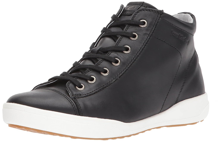 Josef Seibel Women's Sina 17 Fashion Sneaker B06XT66K29 38 EU/7-7.5 M US Black