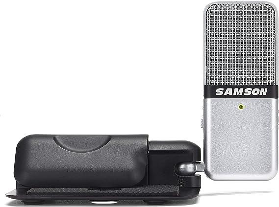 Samson Go Mic Portable USB Condenser Microphone (Renewed)