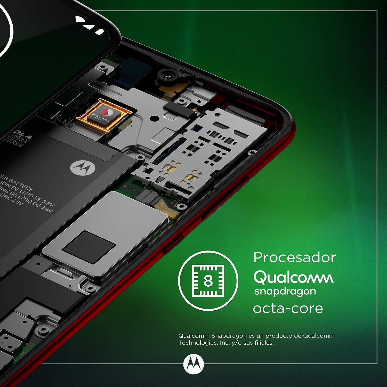 b3534ed9c61 ... 9 (pantalla 6.2'' FHD+ Max Vision, cámara trasera 16MP con  estabilizador, cámara selfie 12MP, 4GB RAM, 64 GB, Dual SIM), color rojo  [Versión española]: ...