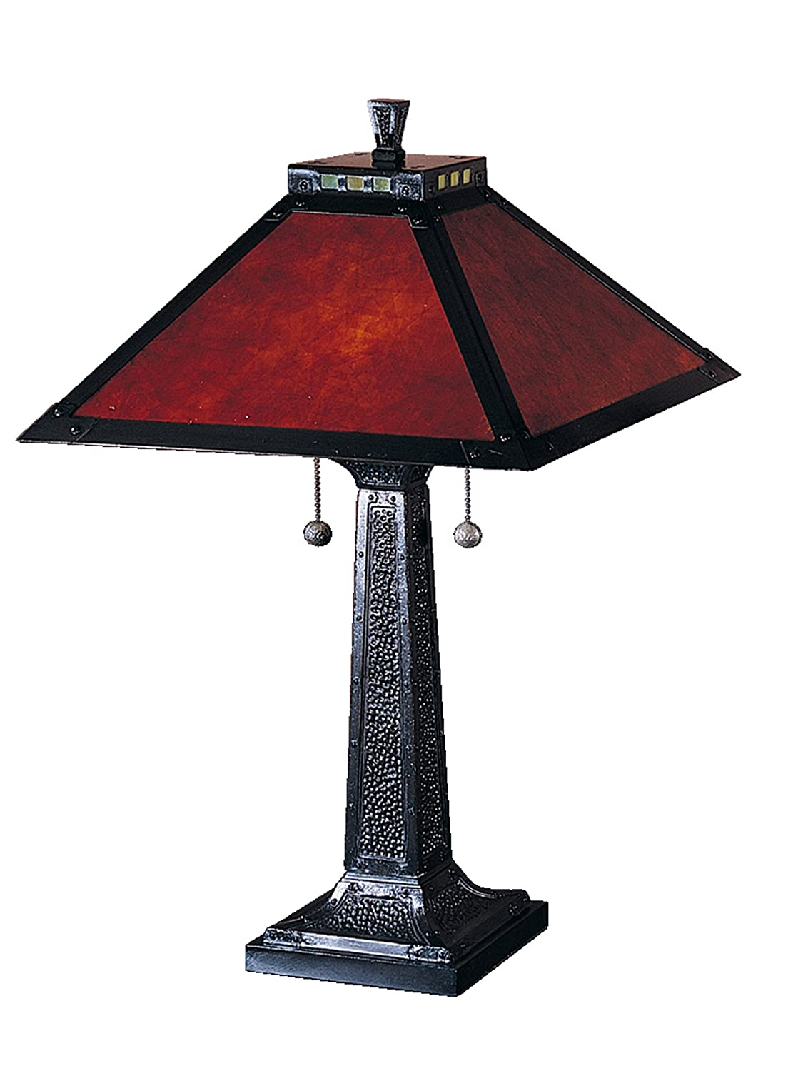 Superb Dale Tiffany TT100174 Mica Camelot Table Lamp, Mica Bronze And Mica Shade      Amazon.com