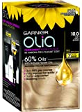 Garnier Olia Permanent Hair Colour - 10 Very Light Blonde (Ammonia Free, Oil Based)