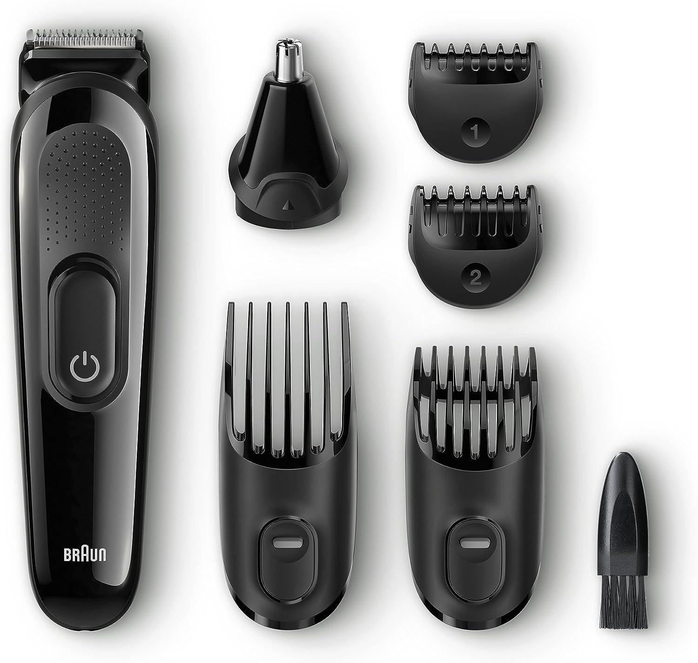 Braun MGK 3020 afeitadora, Plástico, Negro: Amazon.es: Hogar