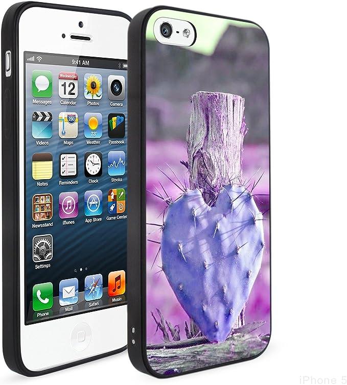 Coque iPhone 5/5S/SE, Cactus iPhone 5S Coque, Beau lors en ...