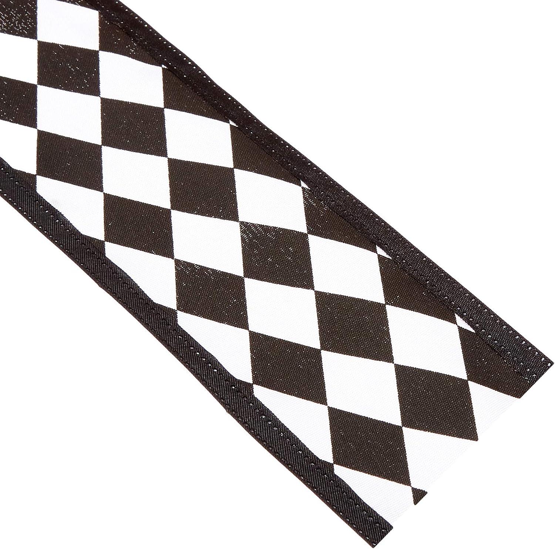 Harlequin Diamond Print Ribbon 10-yard 2-1//2-inch