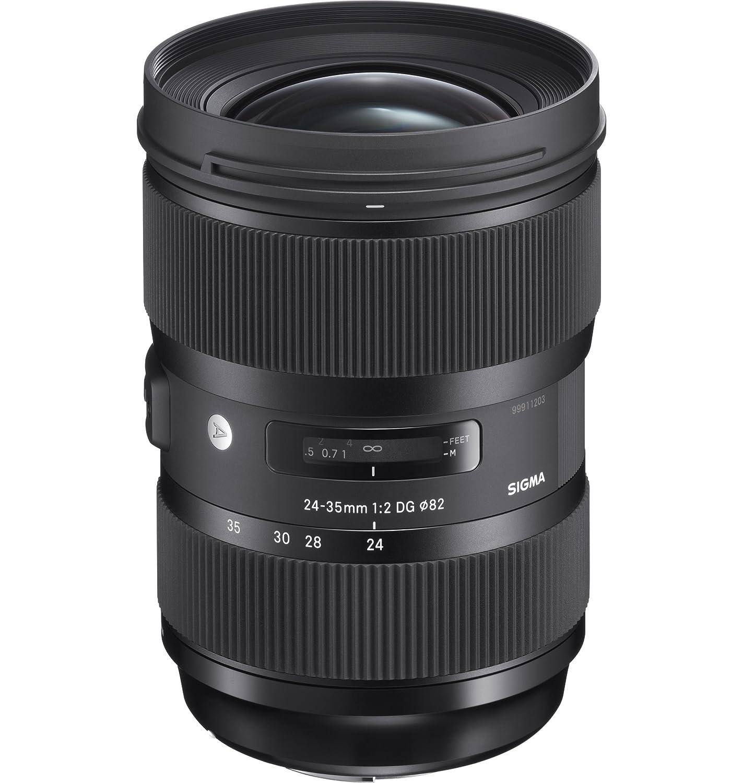 Sigma Standard-Zoom Lens, 24-35mm F.2 DG HSM (Nikon F mount) 588955