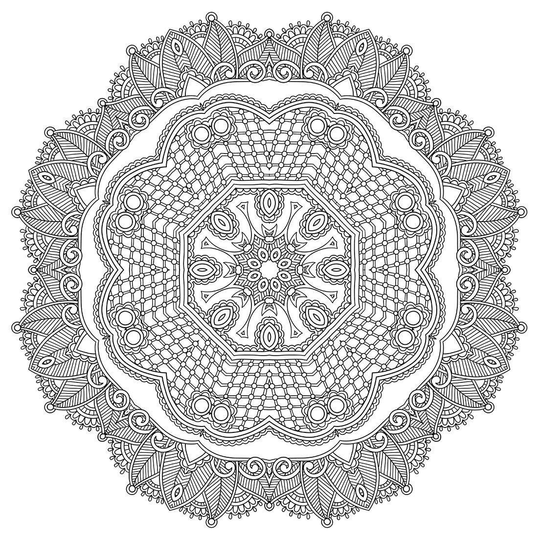 The One And Only Mandala Colouring Book Coloring 9781907912801 Amazon Books